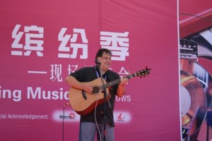 Johnny Corbin in Shanghai