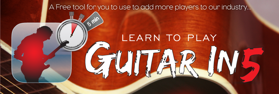 Play Guitar In 5 Minutes. Seriously!